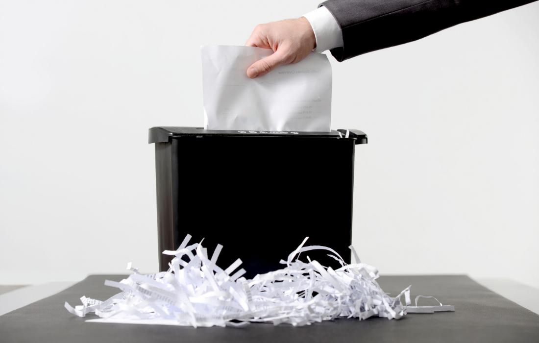 Quando e como fazer a destruição de documentos de forma correta?